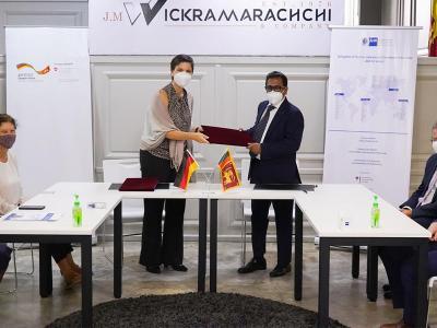 Wickramarachchi to commence German standard courses in Optometry in Sri Lanka